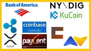 Crypto Blood Bath - Bank of America Patent - NYDIG BitLicense - KuCoin Funding - Coinmine One