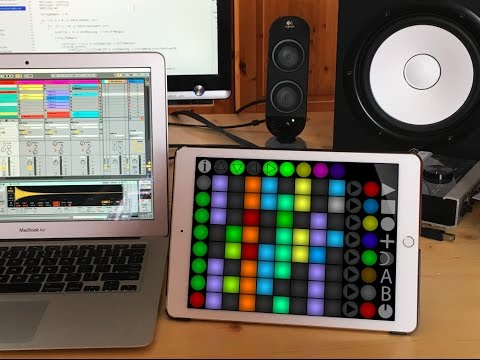 Launch Buttons IOS / Android MIDI App
