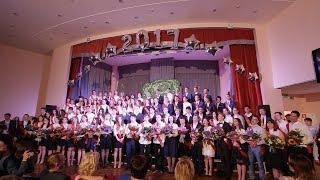 Школьный мюзикл, выпускной 11 классов. Школа 2005 г. Москвы