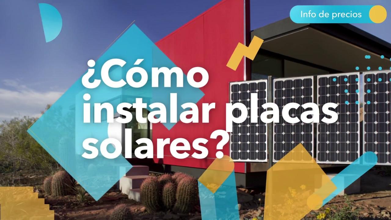 C mo instalar placas solares en el tejado de casa habitissimo youtube - Instalar placas solares en casa ...