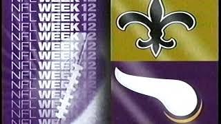 1995   Saints  at  Vikings   Week 12