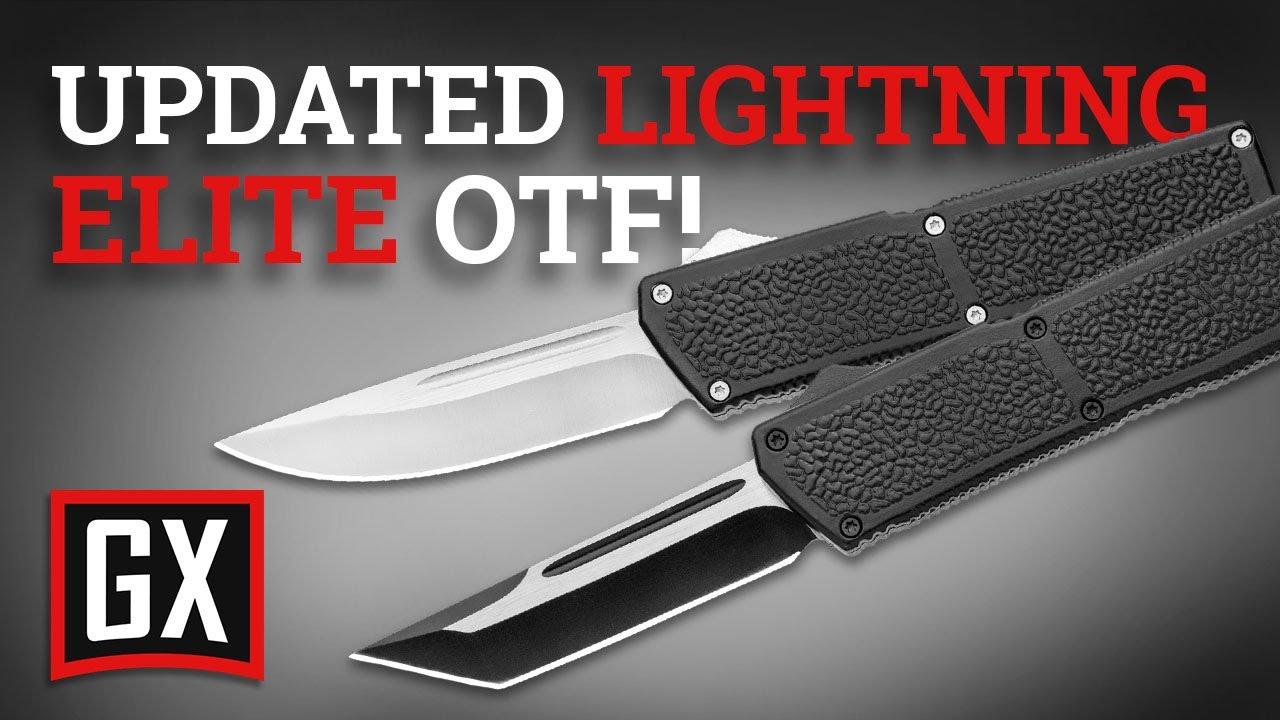 new lightning elite otf knife