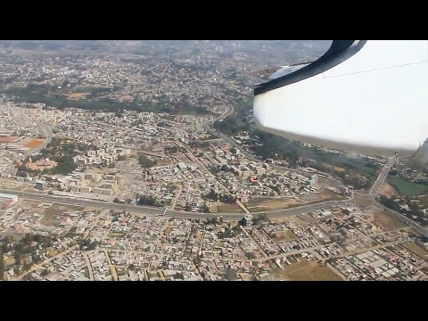 Ethiopian Airlines Dash 8-400 Axum-Addis Ababa Safety, Takeoff, Inflight & Spectacular Landing