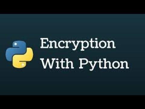 Blowfish Encryption with python التشفير