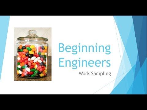 Beginning Engineers Work Sampling