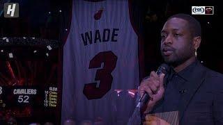 [FULL] Dwyane Wade Jersey Retirement Ceremony - February 22, 2020