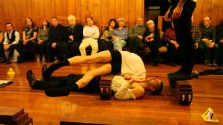 Atom-R (Anatomical Theatre of Mixed Realities) Performing at Hyde Park Salon