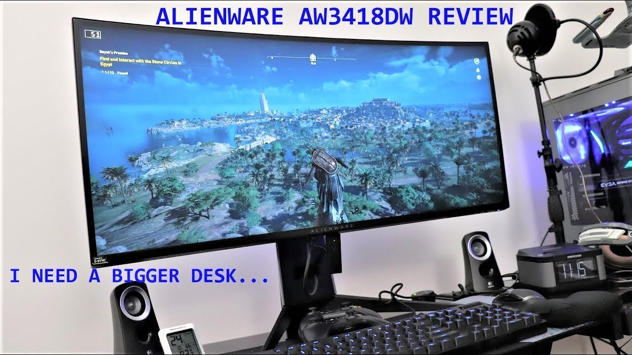 Alienware AW3418DW Gaming Monitor Review!