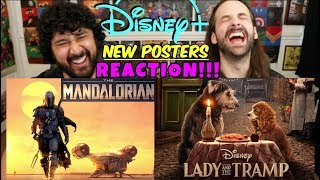 New DISNEY + POSTERS - REACTION!!! (The Mandalorian | Lady & The Tramp) Video