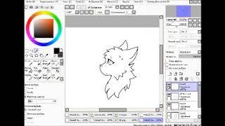 Рисую Летнею Изморозь(рисую котов воителей)