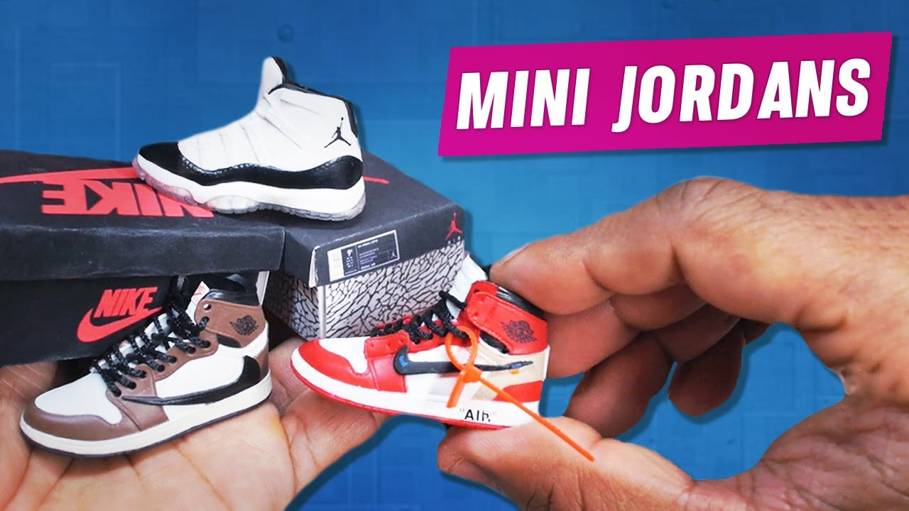 Mini Sneaker Figures Shoes Jordan 16 For Scale Action Collection 0wvmNn8