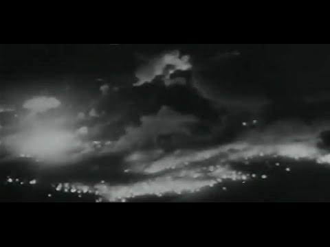 Dresden Bombing With Footage of Allied Aerial Assault on Pforzheim and Cologne Germany
