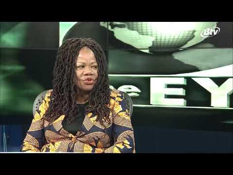 THE EYE 👁🗨 with Omphile Sehurutshe Botswana Television 📺 #RACISM #BLM #AFRICA #BOTSWANA #YOUTH