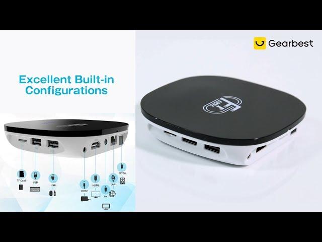 A95X F1 Smart TV Box 2GB RAM + 16GB ROM