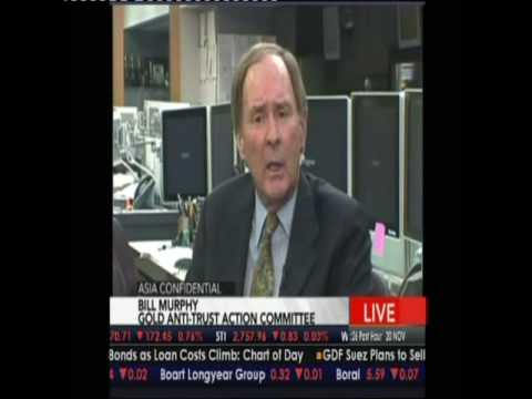 Asia Confidential - NOV 2009 Part 2 - Bernie Lo interviews Bill Murphy, Chairman of GATA