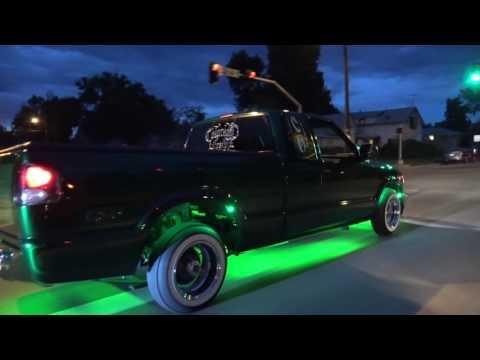 COLORADO LOWRIDER 2016 - GREELEY COLORADO NIGHT CRUISE - 970