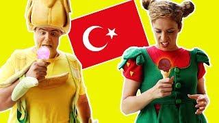 فوزي موزي وتوتي (في إسطنبول) - بدي بوظة - I want ice cream