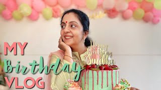 My Birthday VLOG | Sindhu Krishna | Birthday at Home