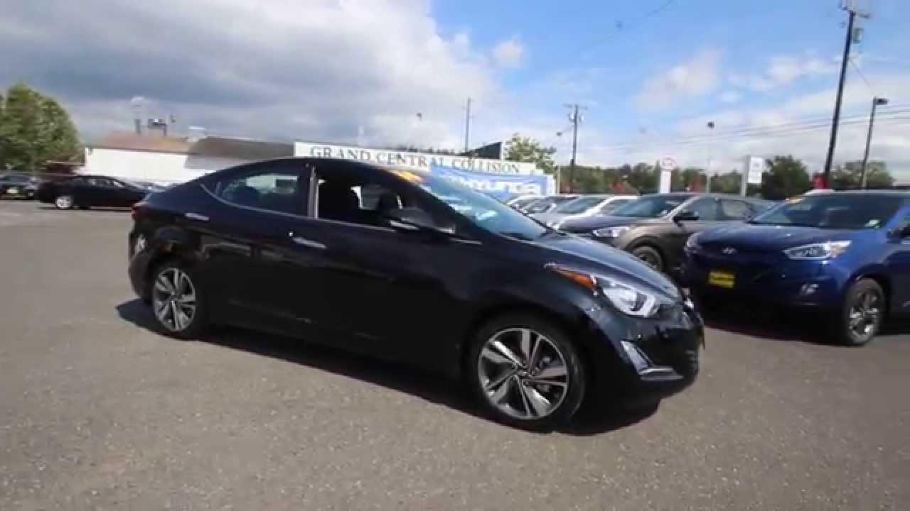 2014 Hyundai Elantra Limited Black Eh531564 Skagit