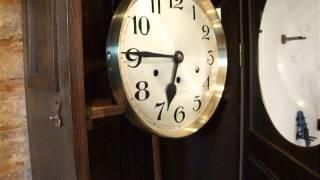 Dufa (deutsche Uhrenfabrik Etzold & Popitz, Leipzig) 1910-1920 Grandfather Clock