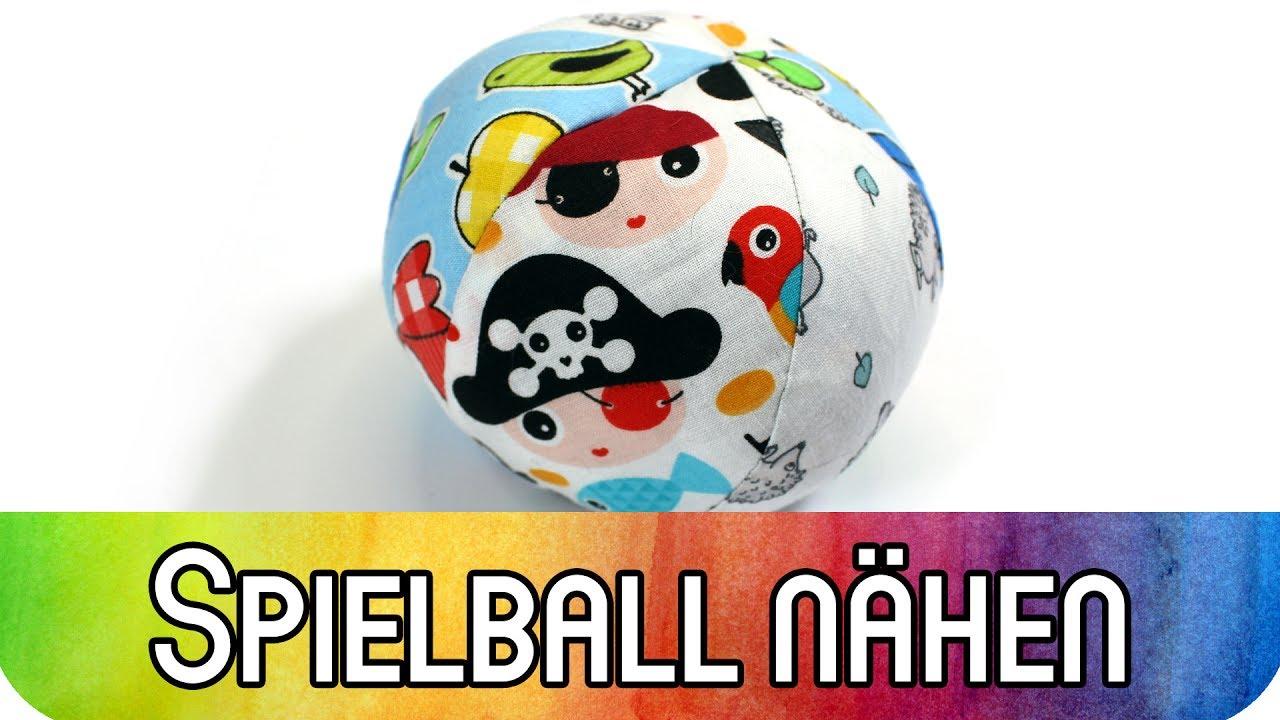 Nähen Für Anfänger Spielball Für Babys Und Kleinkinder Inkl Kostenlosem Schnittmuster