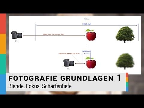 Blende, Fokus, Schärfentiefe einfach erklärt - Fotografie Grundlagen 1 - HD