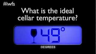 International Wine & Food Society Article - Wine Cellar Temperature