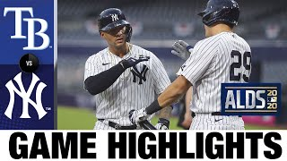 Voit, Torres homer as Yankees force Game 5 vs. Rays | Rays-Yankees Game 4 Highlights 10/8/20