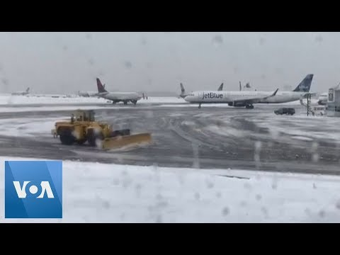 Winter Storm Ravages the United States