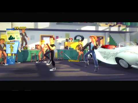 Greased Lightning  Grease Dance  PS3 Fitness