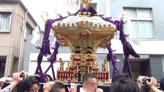 矢先稲荷神社例大祭2018 本社神輿渡御その2 thumbnail
