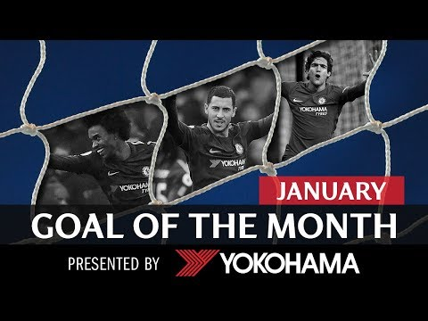 GOAL OF THE MONTH | January | WILLIAN, HAZARD, ALONSO
