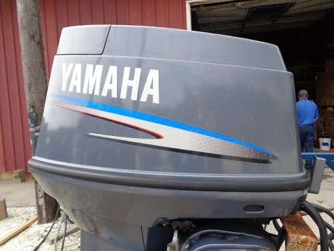 6m4458 Used 2003 Yamaha 70tlr 70hp 2 Stroke Remote
