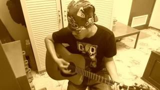 Slank - Mawar Merah - sologuitar acoustic cover by CHR