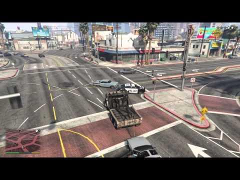 Grand Theft Auto V next gen tow truck plus...