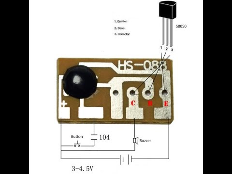 Ding-dong Tone Doorbell Music Module Board IC Sound Chip