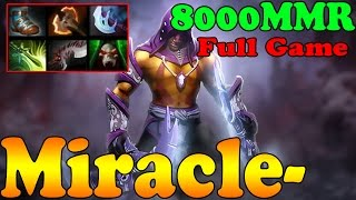 Dota 2 - Miracle- 8000 MMR Plays Anti-Mage - Full Game - Ranked Match Gameplay!