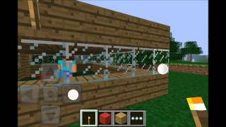 minecraft pocket edition multiplayer gameplay house project hd