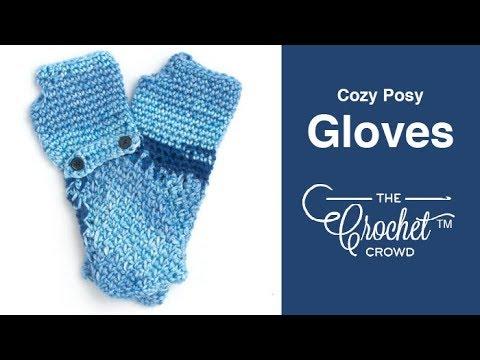 How to Crochet Gloves: Fingerless