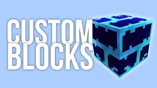How to Make Custom Blocks in Minecraft