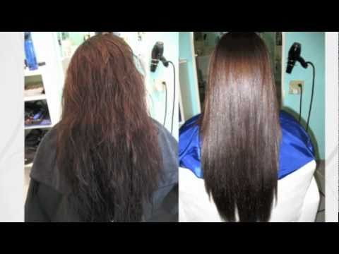 Shiseido Japanese Straight Perm In Toronto Youtube