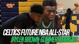 Celtics Future NBA All-Star   Jaylen Brown Workout