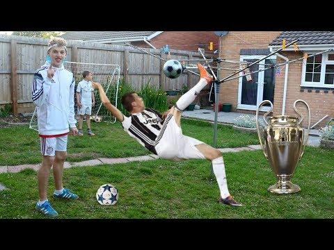 MANDŽUKIĆ OVERHEAD KICK FOOTBALL CHALLENGE!!