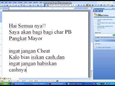 bagi bagi char pb pangkat Mayor Asli Free Download Video MP4