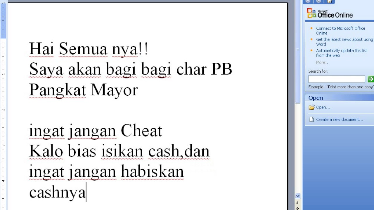 Bagi Bagi Char Pb Pangkat Mayor Asli By Bapak Kau
