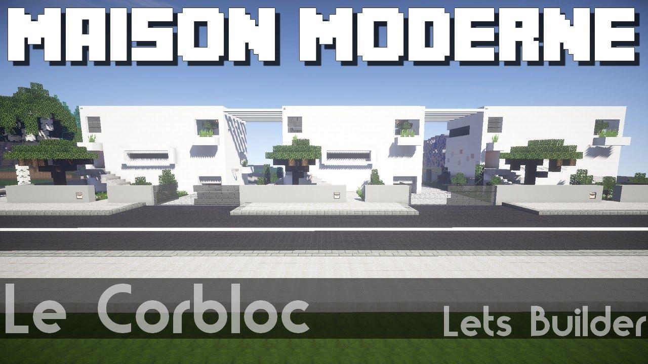 Minecraft Petites Maisons Modernes Youtube