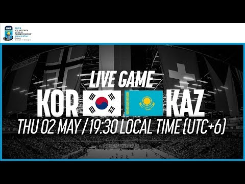 Korea vs. Kazakhstan | Full Game | 2019 IIHF Ice Hockey World Championship Division I Group A