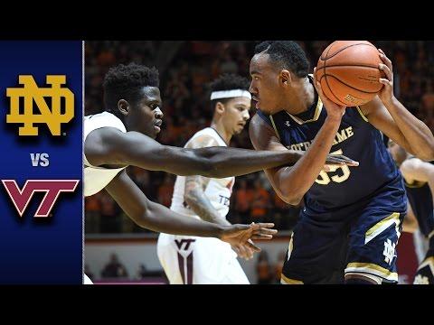 Notre Dame vs. Virginia Tech Men