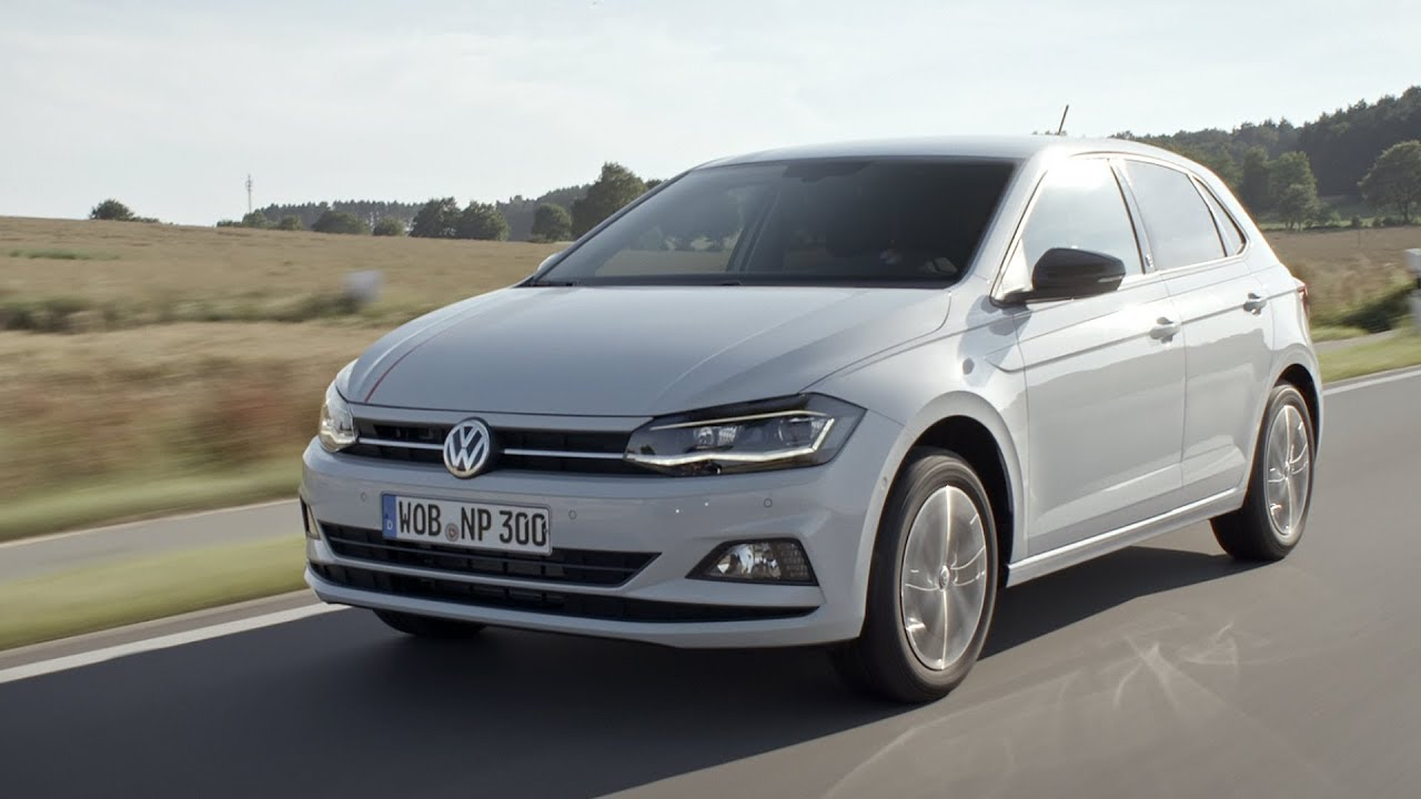 2018 volkswagen polo highline beats driving footage. Black Bedroom Furniture Sets. Home Design Ideas