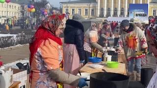 Масленица в Костроме. 1 марта 2020 года